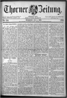Thorner Zeitung 1874, Nro. 154