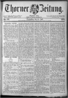 Thorner Zeitung 1874, Nro. 170