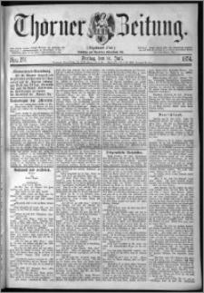 Thorner Zeitung 1874, Nro. 177