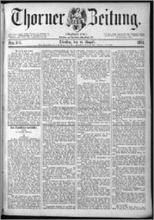 Thorner Zeitung 1874, Nro. 186