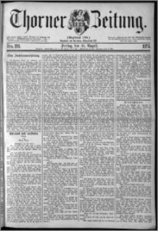 Thorner Zeitung 1874, Nro. 195