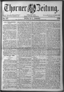 Thorner Zeitung 1874, Nro. 207