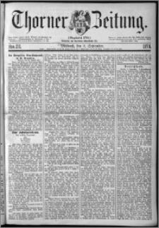Thorner Zeitung 1874, Nro. 211