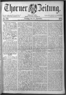 Thorner Zeitung 1874, Nro. 228