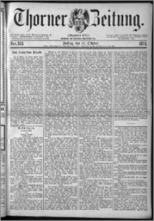 Thorner Zeitung 1874, Nro. 243