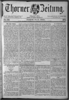 Thorner Zeitung 1874, Nro. 244