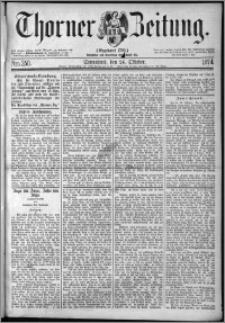 Thorner Zeitung 1874, Nro. 250