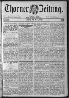 Thorner Zeitung 1874, Nro. 255