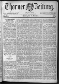 Thorner Zeitung 1874, Nro. 264