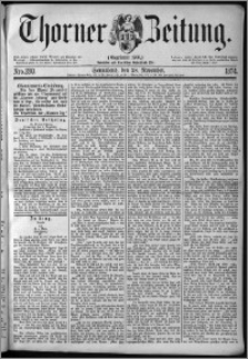 Thorner Zeitung 1874, Nro. 280