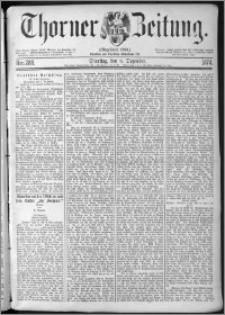 Thorner Zeitung 1874, Nro. 288