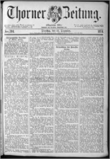 Thorner Zeitung 1874, Nro. 294