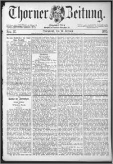 Thorner Zeitung 1875, Nro. 37