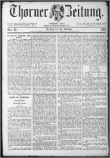 Thorner Zeitung 1875, Nro. 42