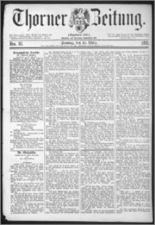 Thorner Zeitung 1875, Nro. 62