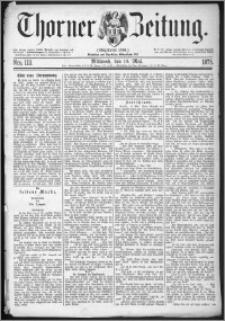 Thorner Zeitung 1875, Nro. 113