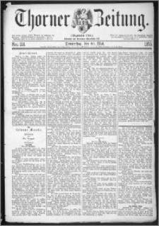 Thorner Zeitung 1875, Nro. 114