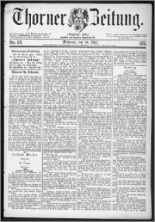 Thorner Zeitung 1875, Nro. 119