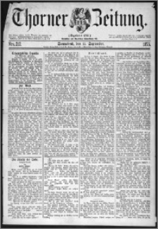 Thorner Zeitung 1875, Nro. 212