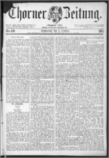 Thorner Zeitung 1875, Nro. 230