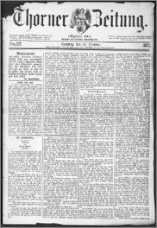Thorner Zeitung 1875, Nro. 237 + Beilage