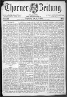 Thorner Zeitung 1875, Nro. 240
