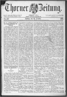 Thorner Zeitung 1875, Nro. 247