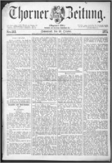 Thorner Zeitung 1875, Nro. 248