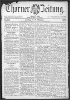Thorner Zeitung 1875, Nro. 279 + Beilage