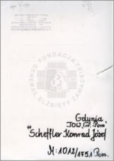 Scheffler Konrad Józef