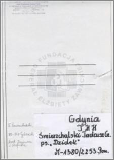 Śmierzchalski Tadeusz