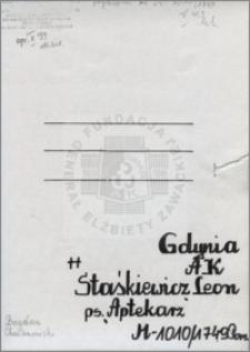Staśkiewicz Leon