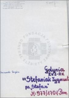 Stefaniak Zygmunt