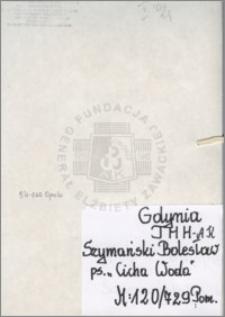 Szymański Bolesław
