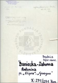 Baniecka-Zaborna Antonina