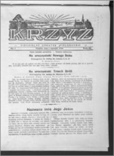 Krzyż, R. 65 (1933), nr 1
