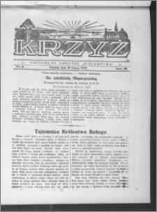 Krzyż, R. 65 (1933), nr 8