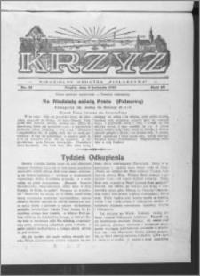 Krzyż, R. 65 (1933), nr 15