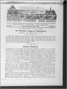 Krzyż, R. 65 (1933), nr 18