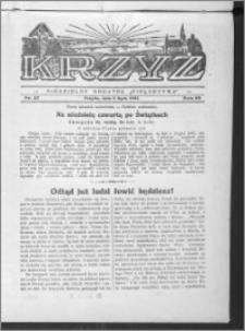 Krzyż, R. 65 (1933), nr 27