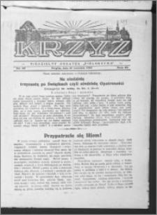 Krzyż, R. 65 (1933), nr 37