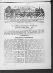 Krzyż, R. 65 (1933), nr 38