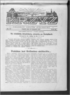 Krzyż, R. 65 (1933), nr 47