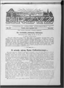 Krzyż, R. 65 (1933), nr 49
