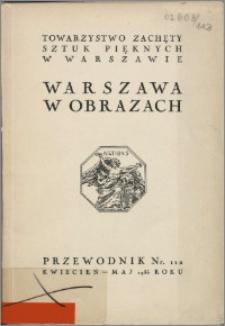 Warszawa w obrazach : [katalog wystawy], kwiecień - maj 1936 roku