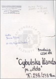 Cybulska Wanda