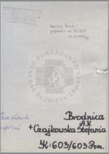 Czajkowska Stefania