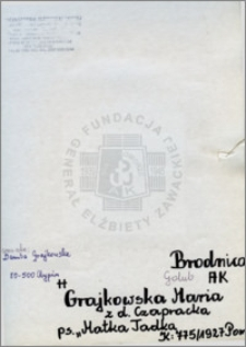 Grajkowska Maria