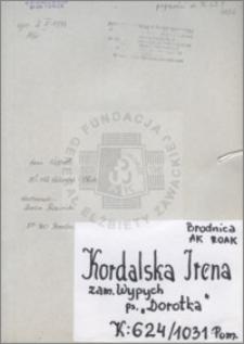 Kordalska Irena
