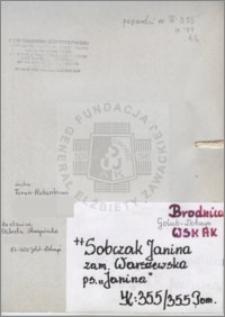 Sobczak Janina